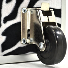 "Load image into Gallery viewer, Small Zebra Trunk - 30"" x 16"" x 12.5"""