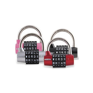 WordLock Combination Lock