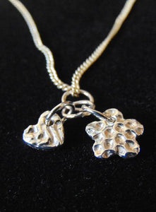 Heart & Flower Pendant