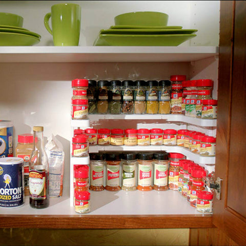 Adjustable Spice Shelf
