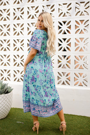 The Kaisley Dress - Gypsy Green