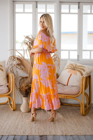 The Azura Dress - Sunset