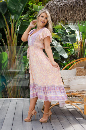 The Analia Dress - Egyptian Purple