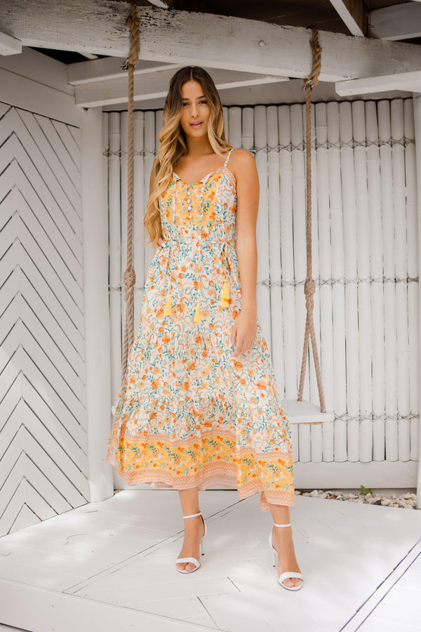 The Annika Dress - Sunrise