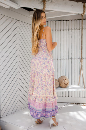 The Aliya Dress - Pastel Haze