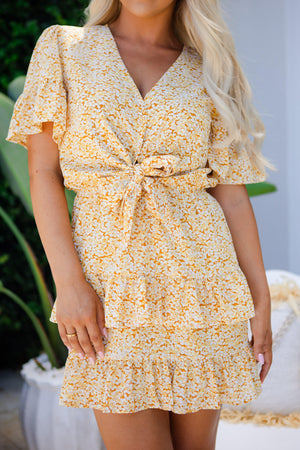 The Amala Dress - Sunshine