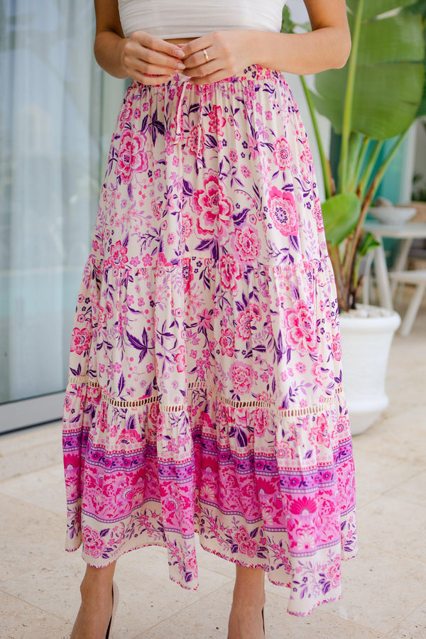 The Milly Skirt - Pink Paradise