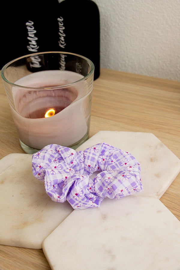 Harlow Scrunchie – Light Purple