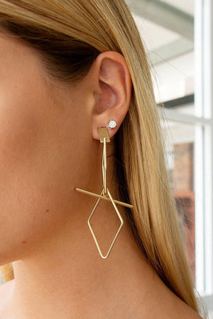 Mikiah Earrings – Gold