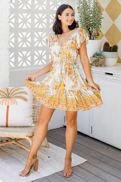 The Joslyn Dress -  Sunshine