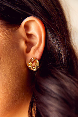 Tammy Earrings - Gold