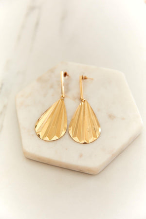 Shelly Earrings - Gold