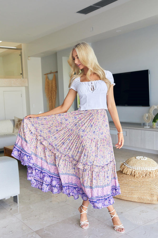 The Erica Skirt – Pastel Haze