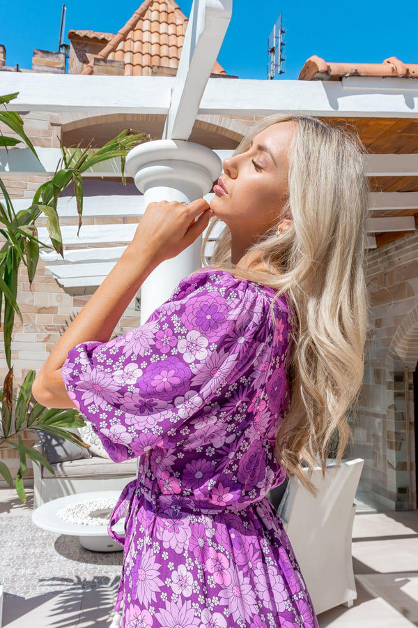 The Odette Dress – Purple Haven