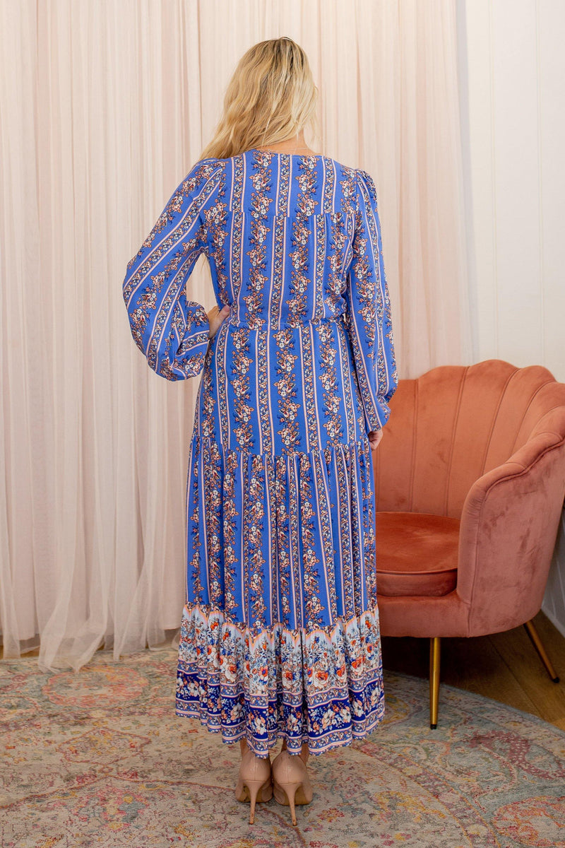 The Evie Dress  - Royal Persian