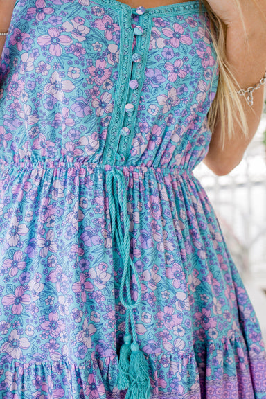 The Rory Dress - Lavender Garden - Sparrow & Finch Boutique