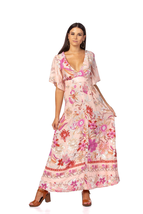 Dress Afternoon Glow Maxi Dress
