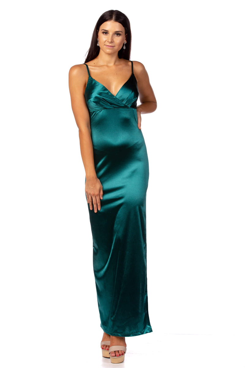 Dress Emerald Beauty Formal Dress