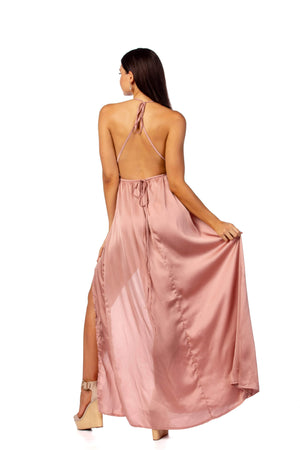 Dress Scandalous - Blush Dress