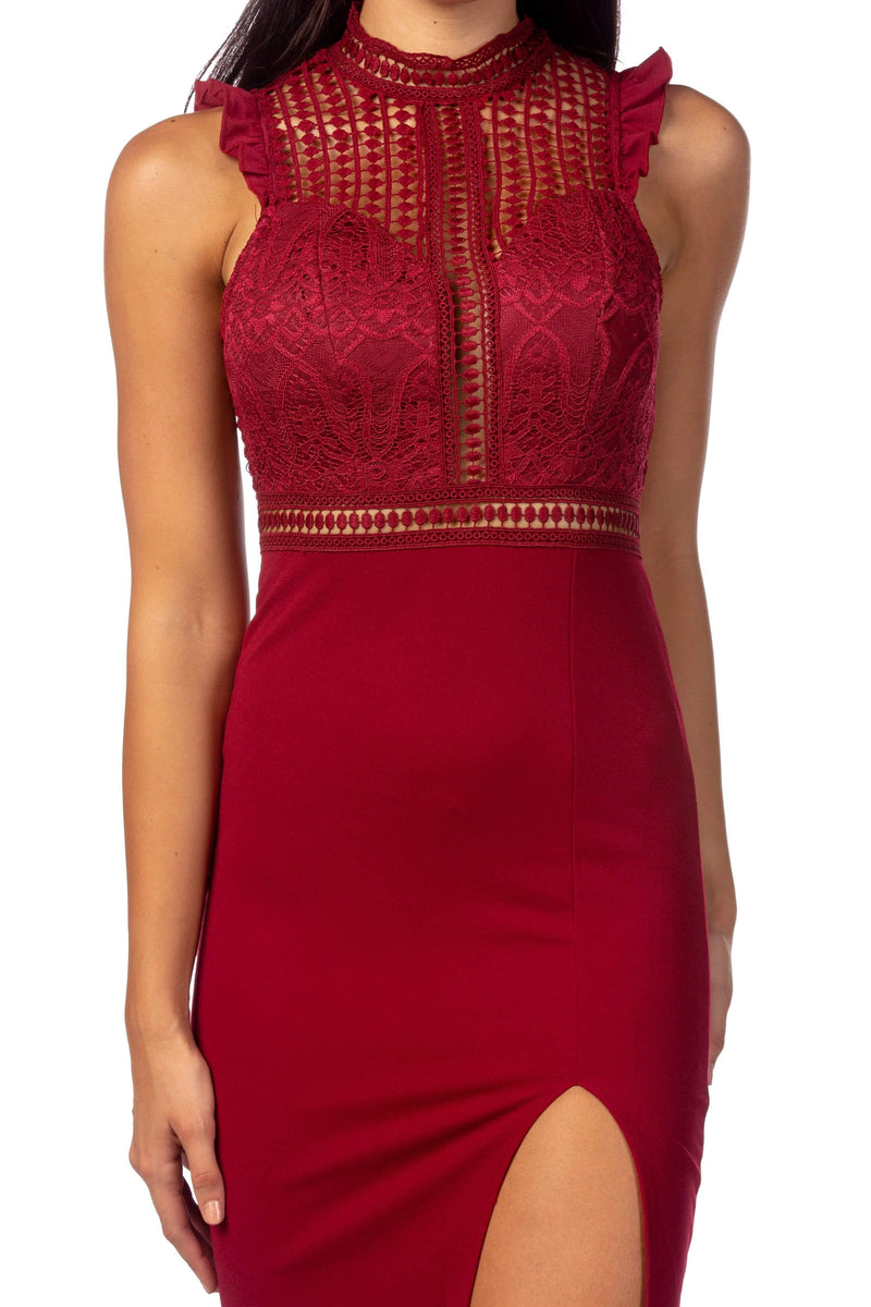 Dress Soho Wine Dress