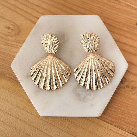 Sianna Earrings - Gold
