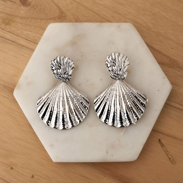 Sianna Earrings - Silver