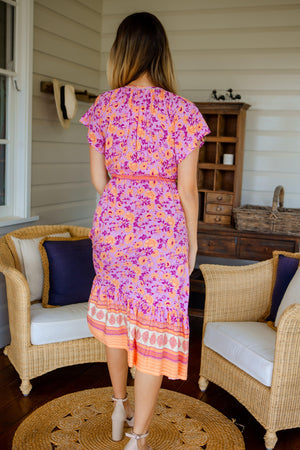 The Thea Dress - Sherbet Pink