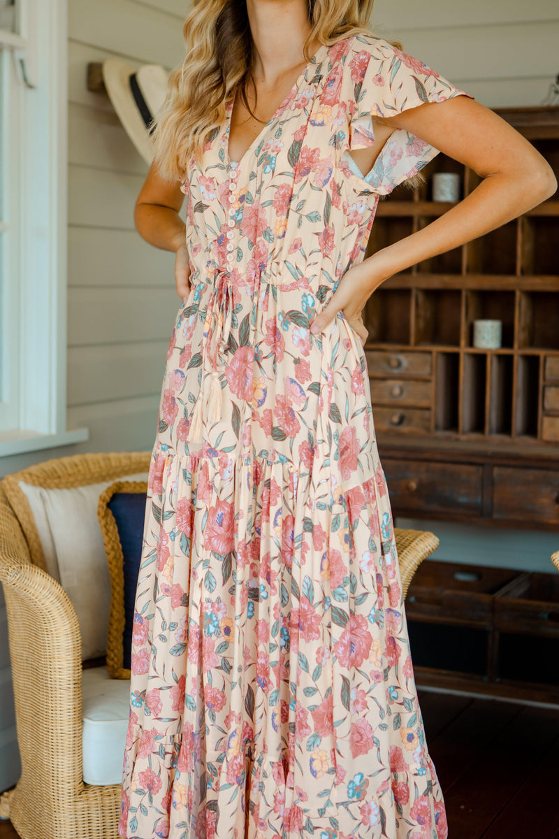 The Ember Dress - Roman Pink