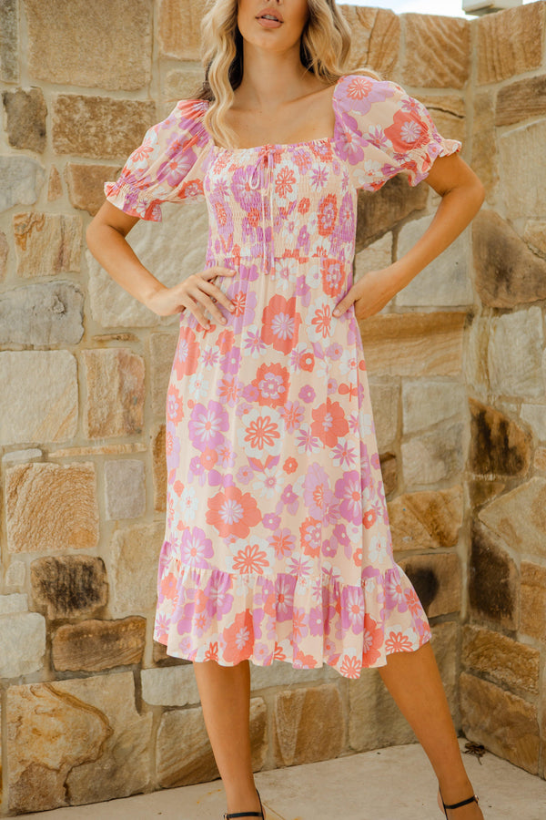 The Trinity Dress - Rose Pink