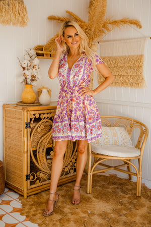 The Nala Dress - Mulberry