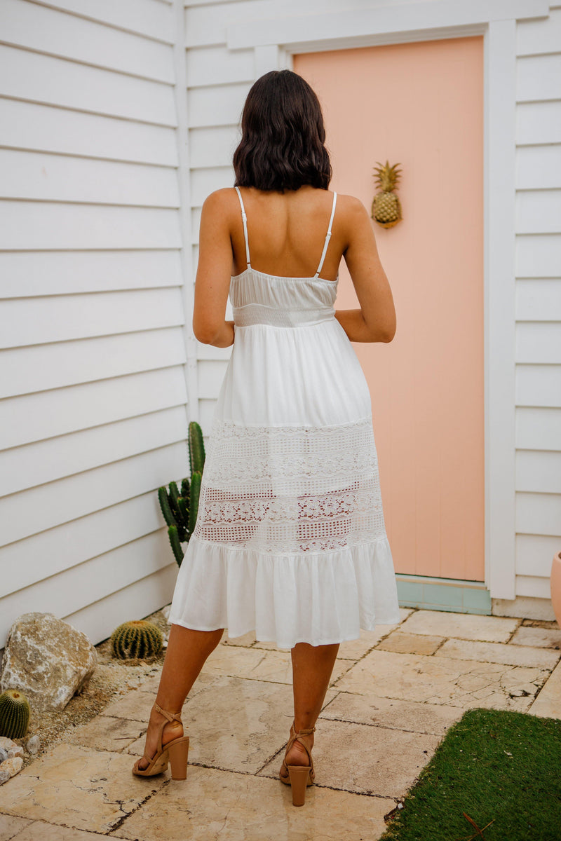 The Brea Dress - White Haven