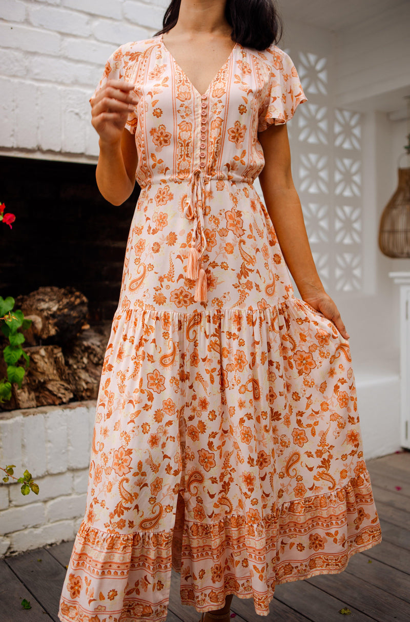 The Ember Dress - Apricot Delight