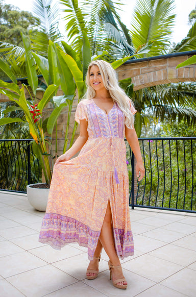 The Ember Dress - Egyptian Purple - Sparrow & Finch Boutique