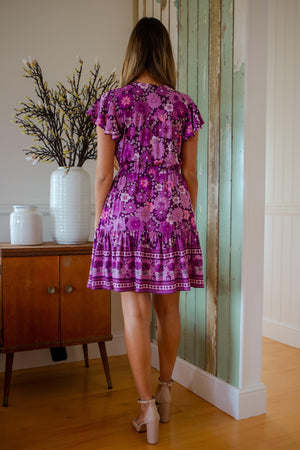 The Nala Dress - Purple Haven