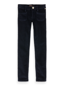Girls Skinny Fit Courdoroy Pant