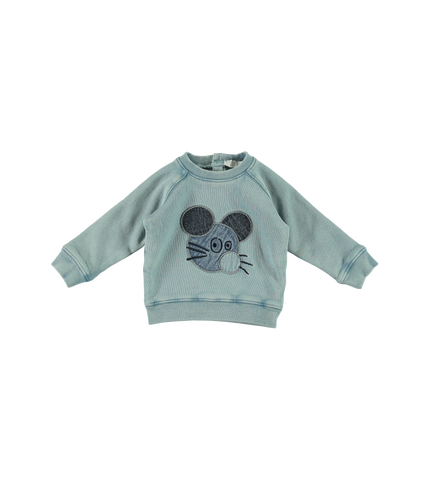 Mouse Patch Sweatshirt