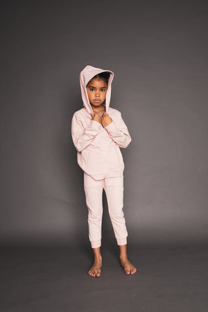 Light Pink Zip Up Hoodie