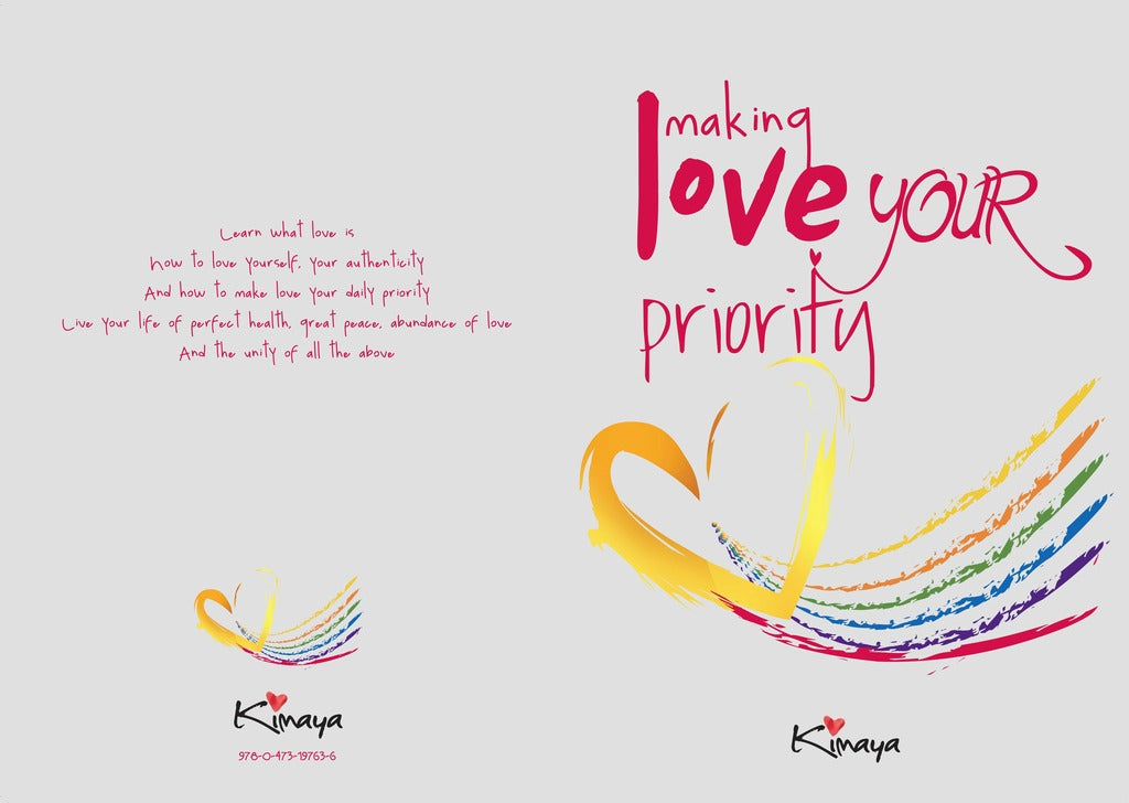 Making Love your Priority - E book and Hard Cover