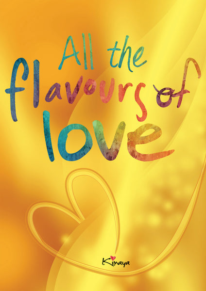 All the Flavours of Love - E book & Hard Cover