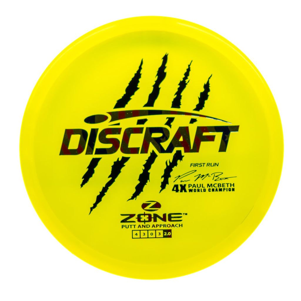 857b37552c4 Discraft - Zone (McBeth First Run) - Z Line Plastic - 173 g ...