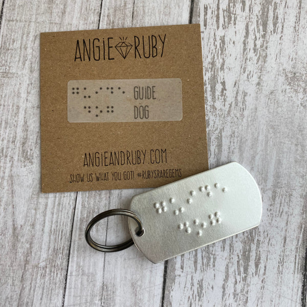GUIDE DOG: Dog Tag