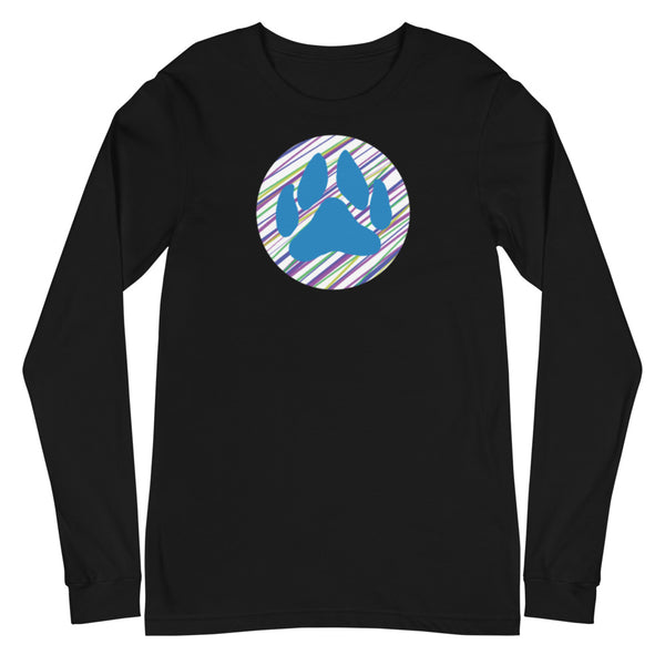 Dog Paw Unisex Long Sleeve Tee