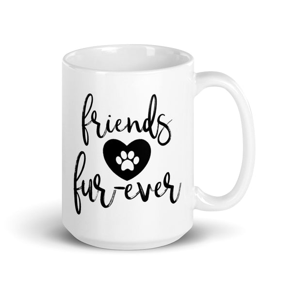 Friends Fur-Ever Mug - Script