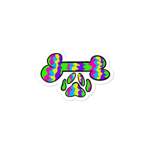 Tie Dye Dog Sticker