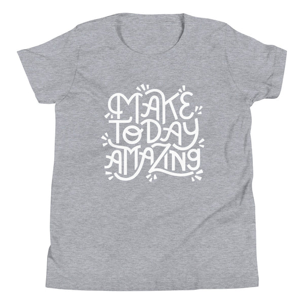 Make Today Amazing Youth Tee - Light Print