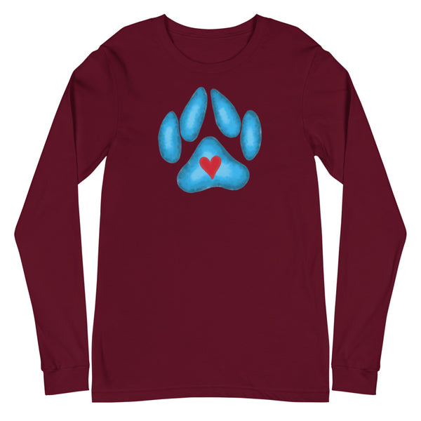 Loving Paw Unisex Long Sleeve Tee