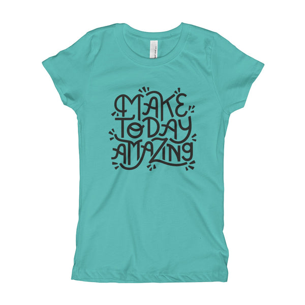 Make Today Amazing Youth Slim Fit Tee - Dark Print