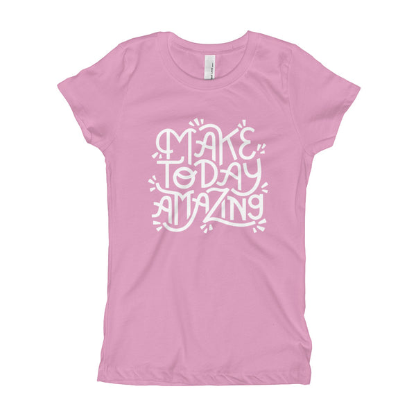 Make Today Amazing Youth Slim Fit Tee - Light Print