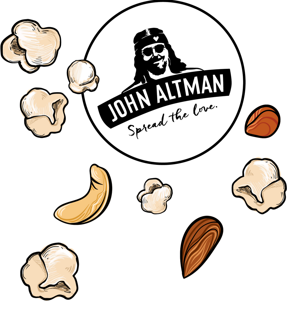 John Altman snacks