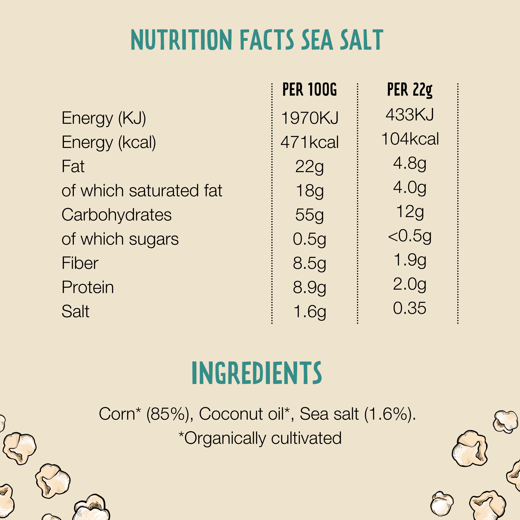 Sea Salt (22 gram, 8 zakjes) - John Altman